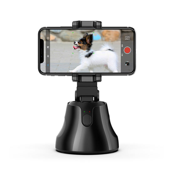 Unviersal 360 Degree Rotation Auto Face-Object Tracking Phone Mount Holoder for All Phones