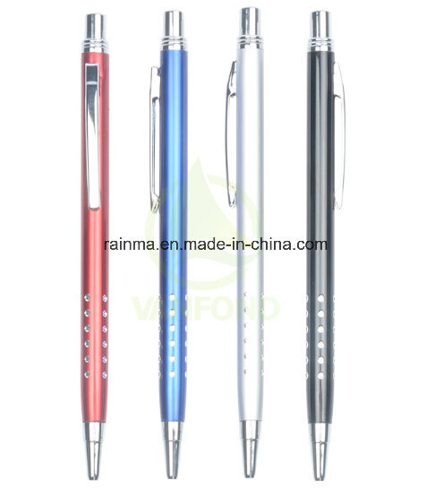 Popular Office Supplies Customized Promotional Aluminium Pen With Logo