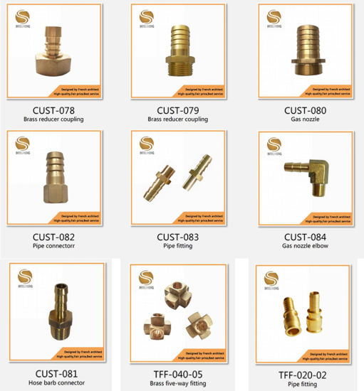 Fitting Brass Fittings Pneumatic Fitting Brass Metal Pipe Fittings