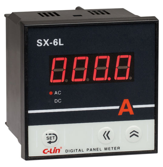 Digital Current/Voltage/Frequency Measuring Meter Sx-6L Series