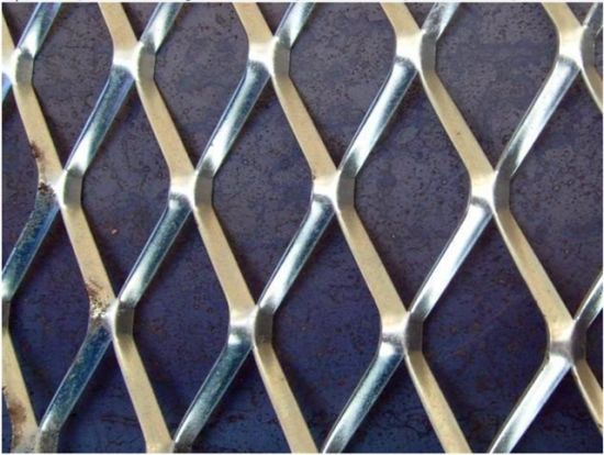 Expanded Aluminum Wire Mesh Falltterd China Manufacture Supply
