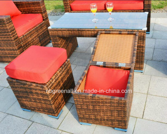 New Design Modern Patio Rattan/Wicker Leisure Outdoor Garden Sofa Furniture pictures & photos