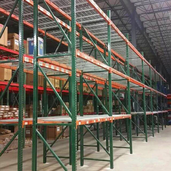 American Warehouse Storage Heavy Duty Teardrop Pallet Rack