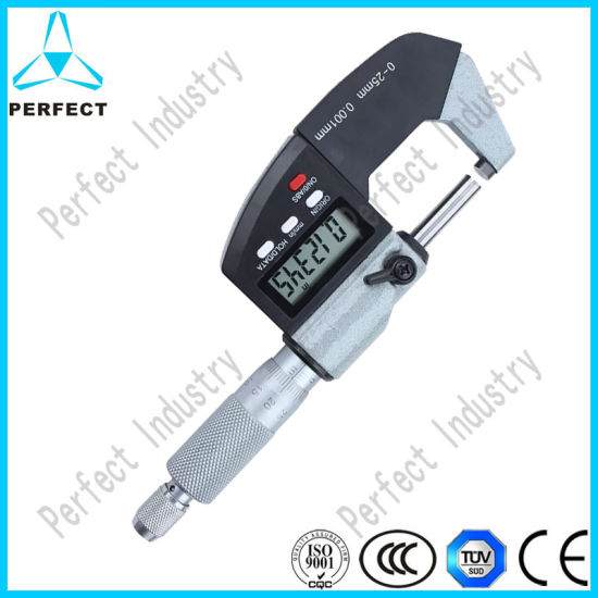 High Precision Electronic Digital Screw Thread Micrometer pictures & photos