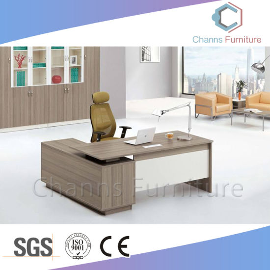 Fashion Laminated Office Table Partical Board Executive Desk (CAS MD1887)