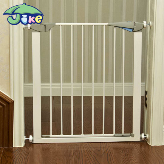 China Jike Stairs Baby Safety Door Gate China Door Metal Gate
