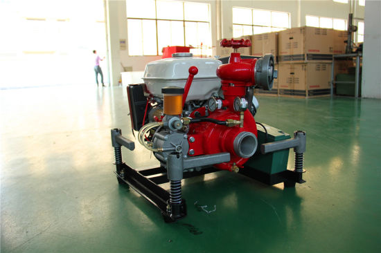 9HP Light Weight Portable Fire Pump with Honda Engine pictures & photos