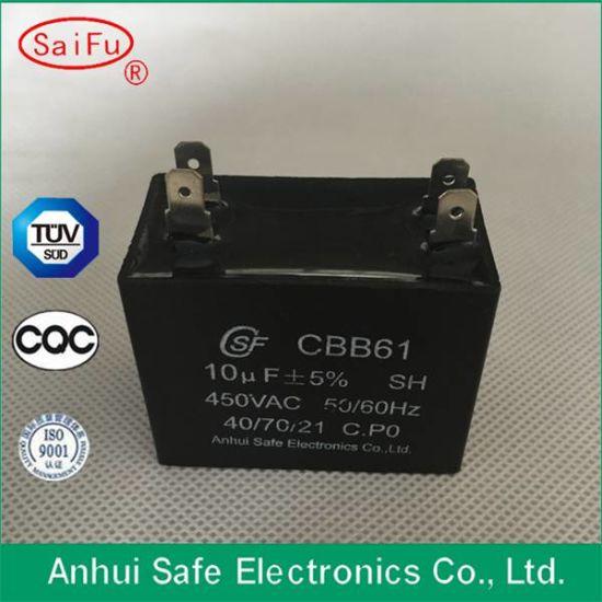 China 1UF 450V Ceiling Fan Wiring Diagram Capacitor Cbb61 - China AC Motor  Run Capacitor, Electrolytic CapacitorsAnhui Safe Electronics Co., Ltd.