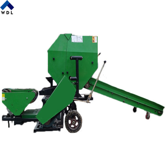 Automatic Corn Silage Baler Machine Maize Silage Baler and Wrapper Machine for Animal Feed