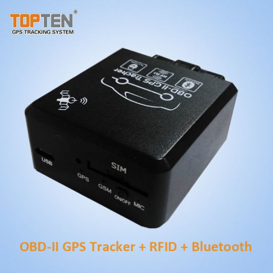 Simply Install OBD2 GPS Tracker with Plug-N-Play Design, RFID Fleet Management Tk228-Ez pictures & photos