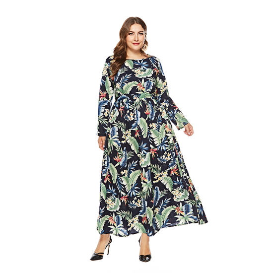 China Plus Size Big Hem Long Dress For Fat Women China Dress