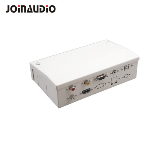 Connectivity Box Cable Box Tabletop Socket HDMI USB Adaptor (9.2122)