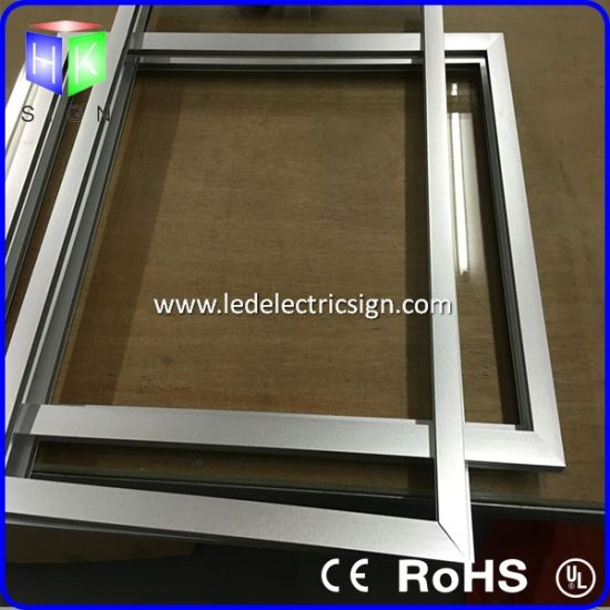 Highlighting The LED Advertising Light Box with Aluminum Picture Frame pictures & photos