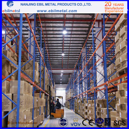 Ebilmetal Storage Steel Q235 Heavy Duty Pallet Rack pictures & photos