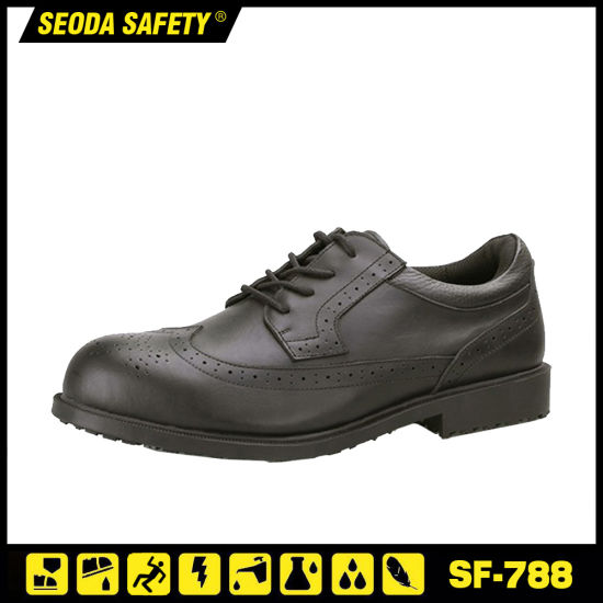 Anti Slip Office Breathable Safety Shoes pictures & photos