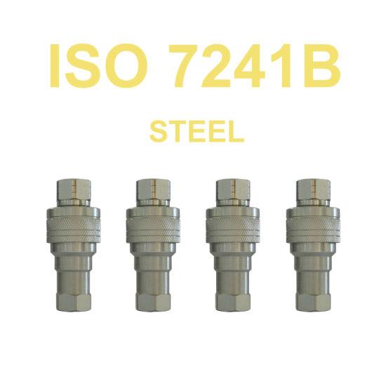 ISO 7241B Standard Hydraulic Quick Coupler Nipples