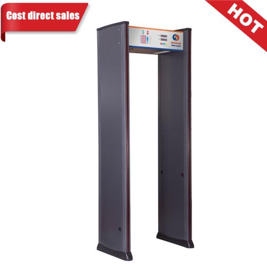 China Gantry Security Door Frame Walk-thru Metal Detectors for ...