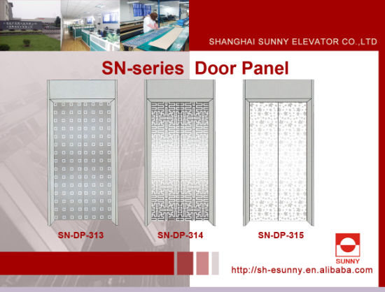 China Elevator Door Panel with Maple Leaf Pattern (SN-DP-313 ...