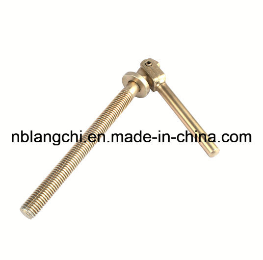 Non-Standard Trapezoidal Thread Rod Shaft Adjusted Lead Screw pictures & photos