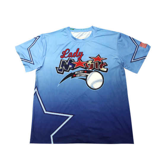 9f6540994 China Factory 100%Polyester Sublimation Printing Sport Wholesale Custom T  Shirts pictures & photos