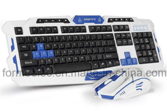 China 2 4GHz Wireless Keyboard Mouse Notebook Laptop PC