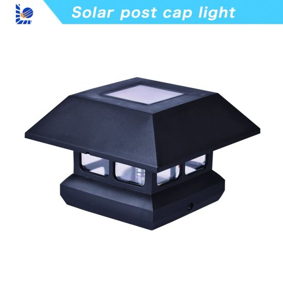 Loyal Manufacturer Good Quality Waterproof Solar Panel LED Outdoor Solar Fence Post Cap Lighting pictures & photos