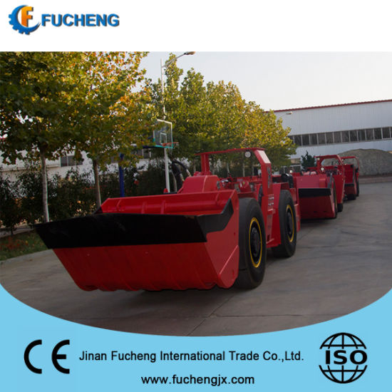 4 cubic meter mining Underground LHD Loaders / Scooptram with high quality