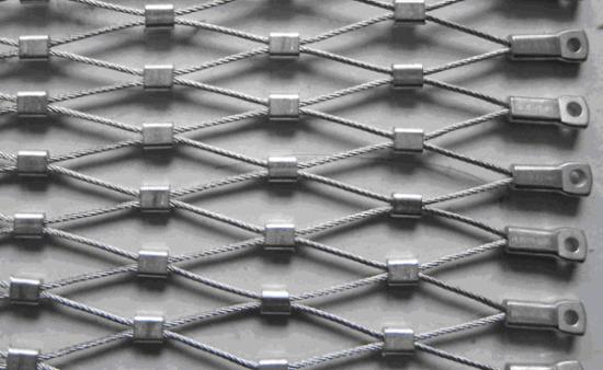 Tec-Sieve Stainless Steel Wire Rope Diamond Ferruled Mesh