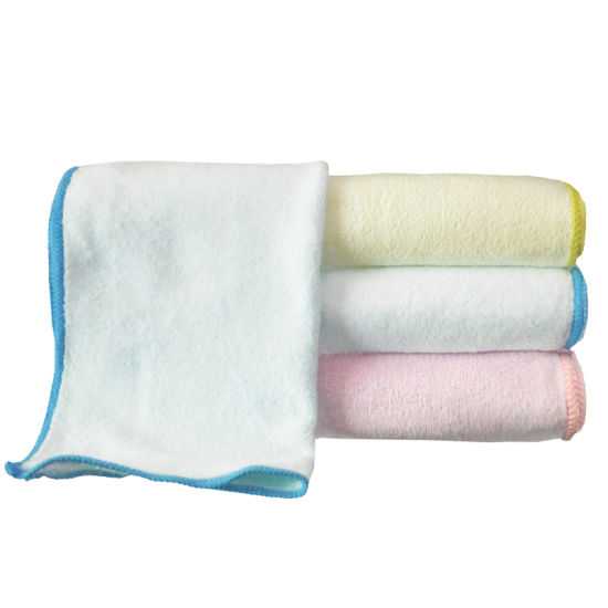 Baby Wet Towel Organic Chinlon Pure Cotton Water China Manufacturer Soft Wipes Towel pictures & photos