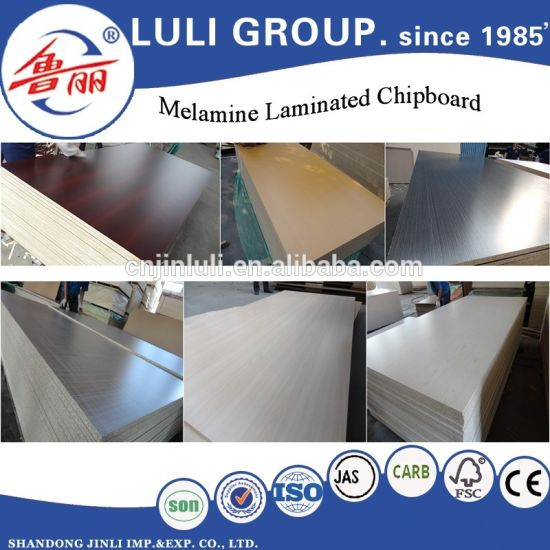 Hot Sale Melamine Particle Board From Luli Factory