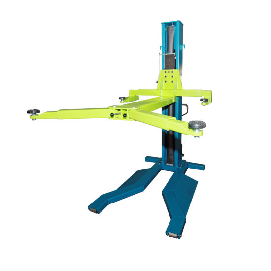 One Post Single Post Auto Lifter Car Hoist for Hydraulic Cylinder