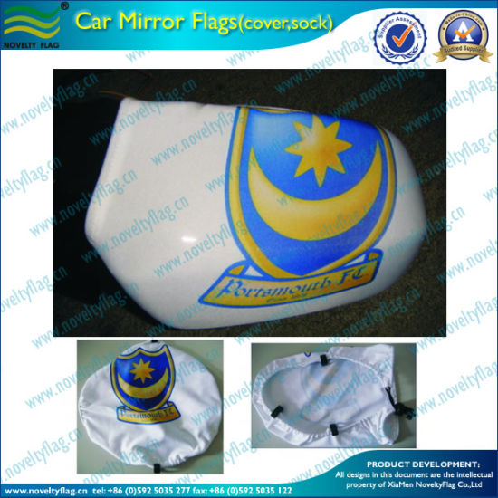 Custom Printed Car Side Mirror Flag Cover (M-NF11F14009) pictures & photos