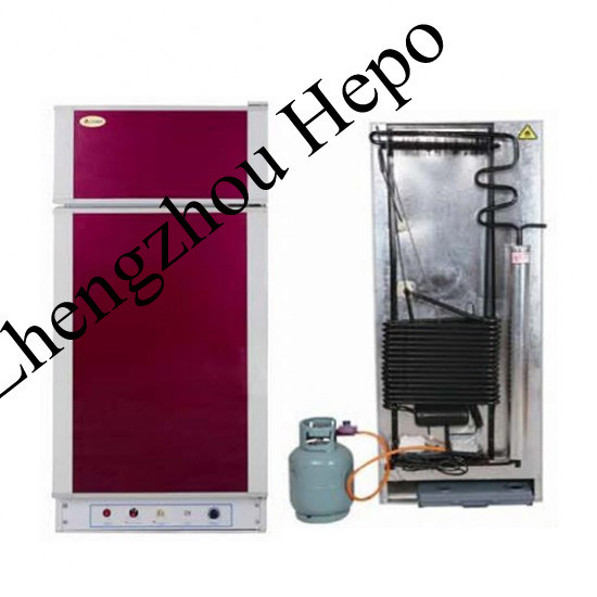 Gas Kerosene Absorption Beverage Refrigerator with Freezer (HP-XCD300) pictures & photos