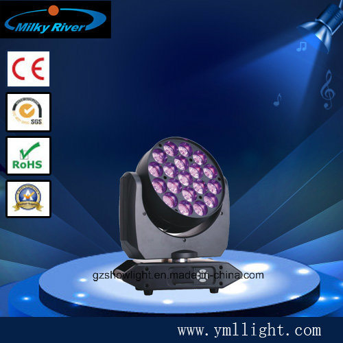 Super Quality Mini Bee Entertainment Series 19PCS 10W RGBW Quad LED Moving Head pictures & photos