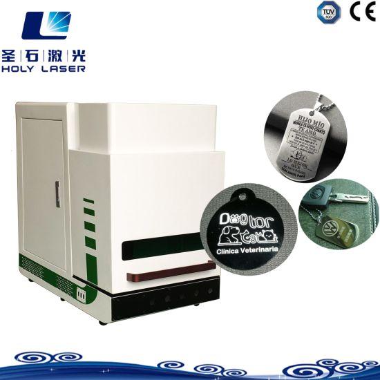 Equipment Mobile Phone Portable Desktop Metal Fiber Laser Marking Machine