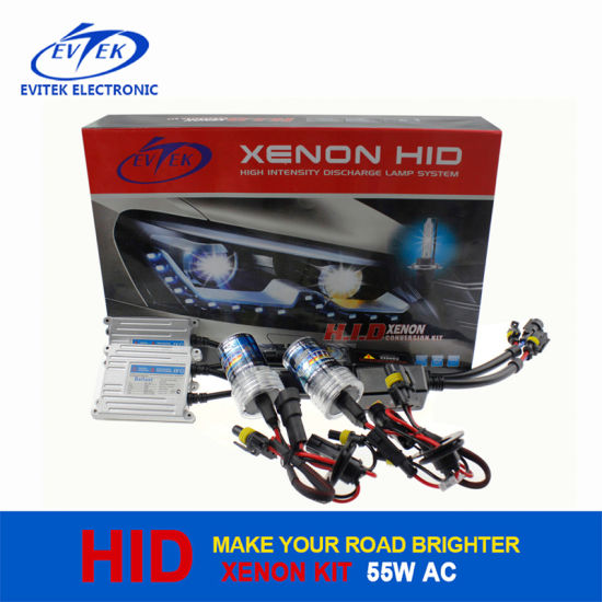 HID Lighting 55W AC Slim HID Xenon Conversion Kit with 3000k-30000k HID Xenon Lamp