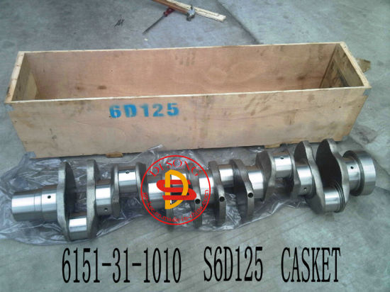 Crankshaft for Komatsu Engine Parts (6151-31-1010)