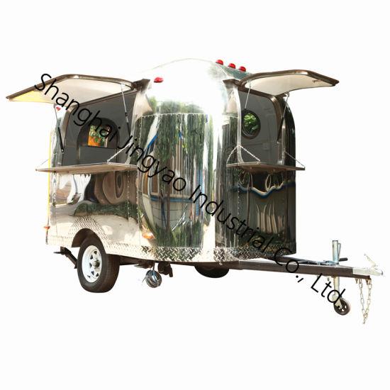 Mini Fast Food Caravan Small Ice Cream Trucks Small Camper Trailer Caravan For Sale