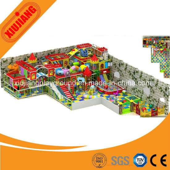 Commercial OEM Plastic Indoor Play Centre Equipment for Sale