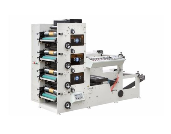4 Color Flexo Printing Machine for Paper Cup Label
