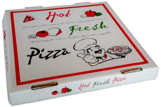 High Quality Colorful Corrugated Paper Cardbaord Pizza Hut Boxes pictures & photos