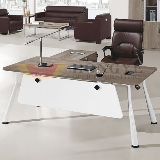 Modern Modular Executive Affordable Contemporary Discount High End  Wholesale Desk Office Furniture (HY-BT19)