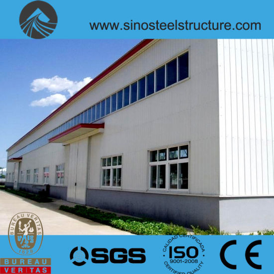 Ce BV ISO Certificated Steel Construction Factory Plant (TRD-041)