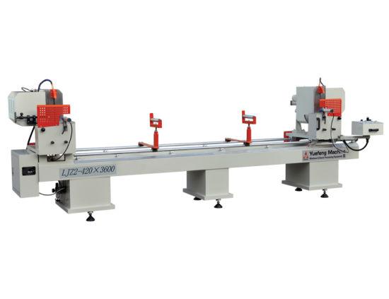 Double Head Plastic Profile Cutting Machine UPVC Window Making Machine