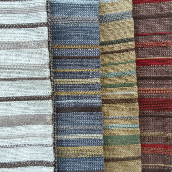 China Stripe Cushion Household Textile Sofa Polyester Rayon Chair Upholstery Fabric China Stripe Fabric And Striped Fabric Price