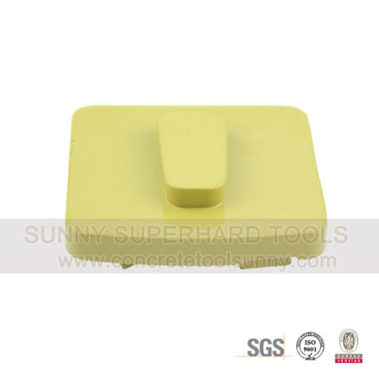 Trapezoid Redi Lock PCD Floor Diamond Grinding Shoes Pad Tools for Removing Coating pictures & photos