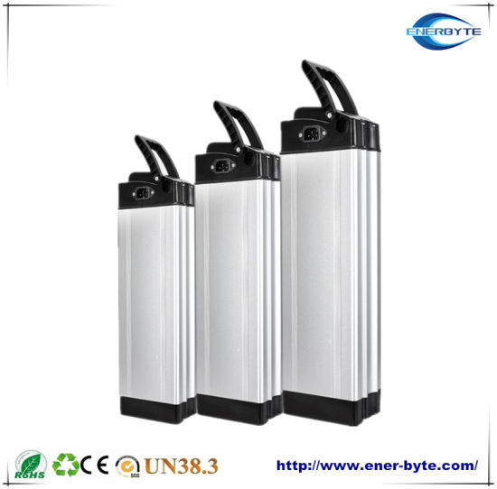 Electric Bicycle Silver Fish Lithium Battery 48V10ah