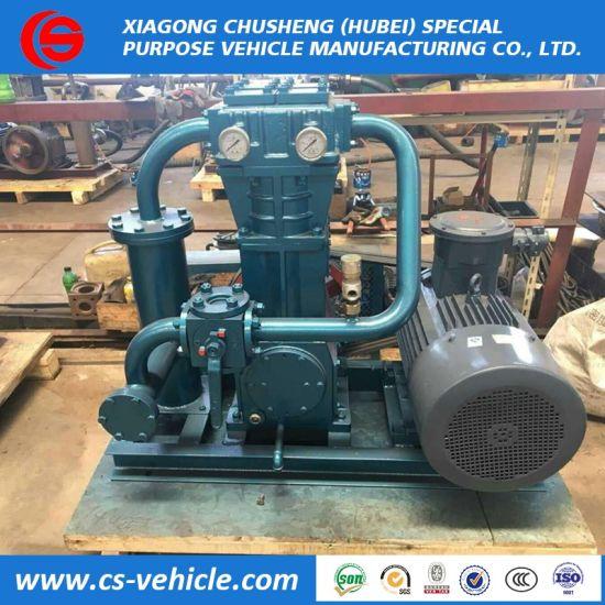 Liquefied Petroleum LPG Gas Compressor for Nigeria Market