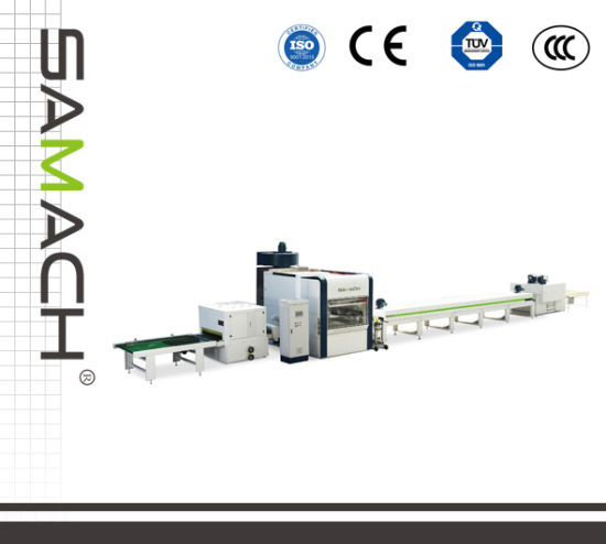 Woodworking Machinery UV Reciprocating Auto-Spray Painting Line