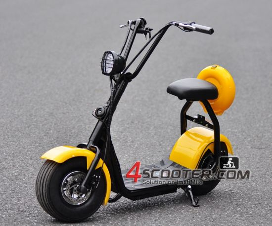 Zhejiang Citycoco Cheap Electric Motorcycle Scooter pictures & photos